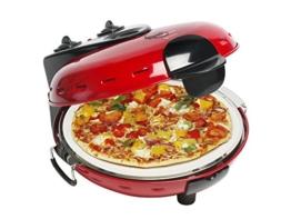 Bestron DLD9070 Pizzasteinofen mit Fenster -