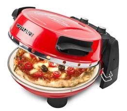 G3Ferrari G10032 Pizzamaker, Ofen Napoletana mit einem zusätzlichen Stein im Deckel zum Überbacken -