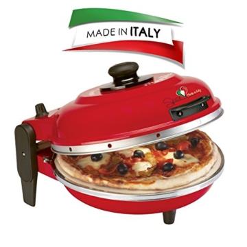 """SPICE- Pizza italia """"DIAVOLA"""" Spezieller Elektrobackofen für Pizza-Pizzaofen 400 grad-pizzamaker made in italy 100% -"""