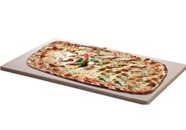 Santos Pizzastein für Gas Grill, Backofen, Grill 45 x 35 cm -